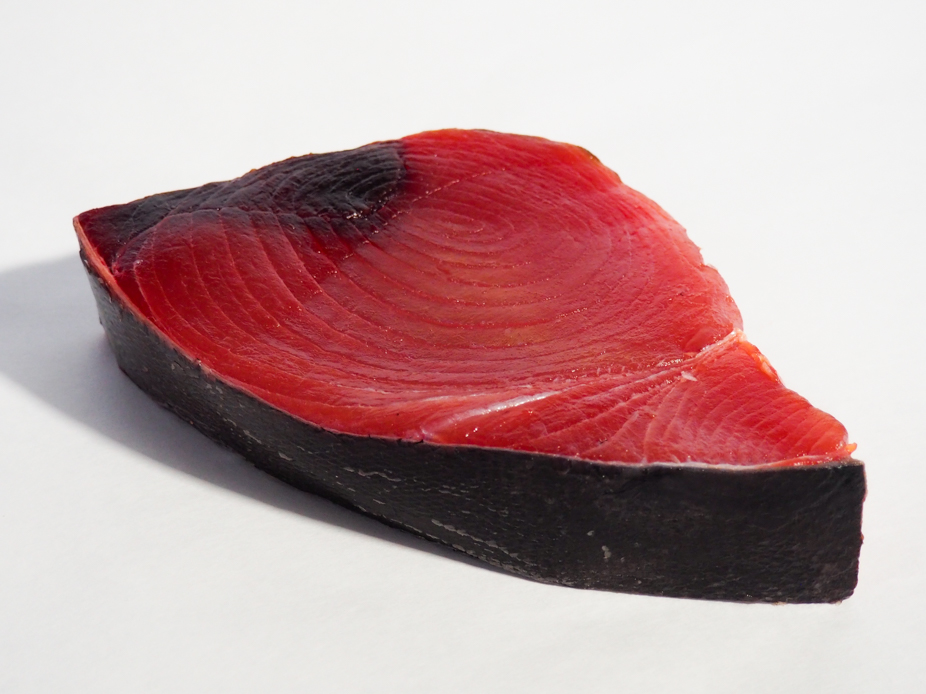 Fresh yellowfin tuna sushi grade harbor fish market for Buy sushi grade fish online