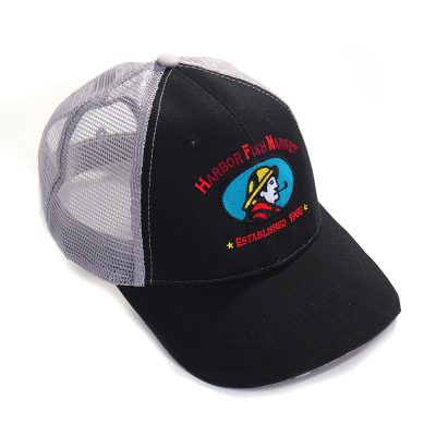 Harbor Fish Trucker Cap Black/Grey