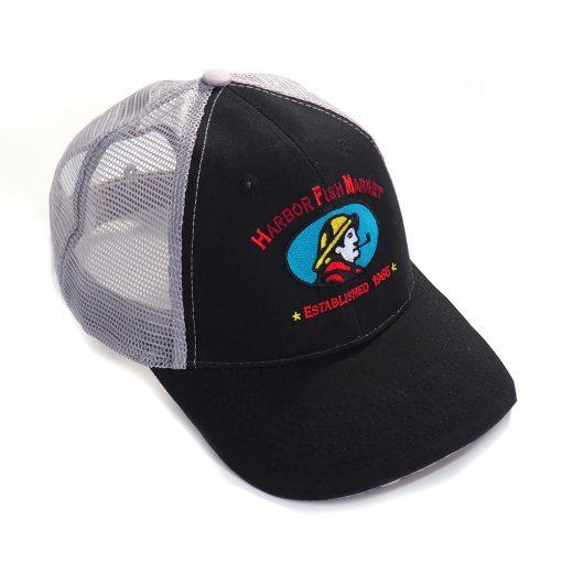 Harbor Fish Trucker Cap Black/Grey