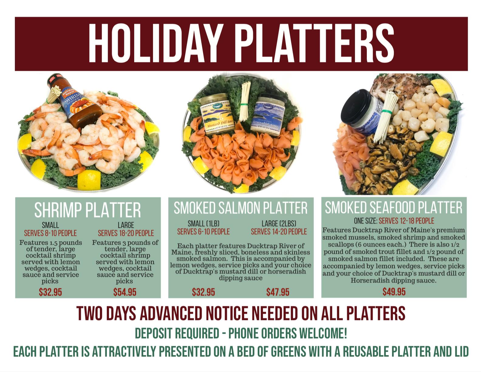 Thanksgiving Essentials Harbor Fish Market